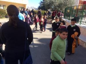 Holy Land 2015 children ramallah