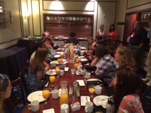gc youth at breakfast
