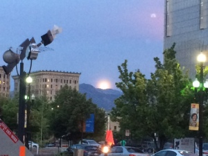 GC moon over slc