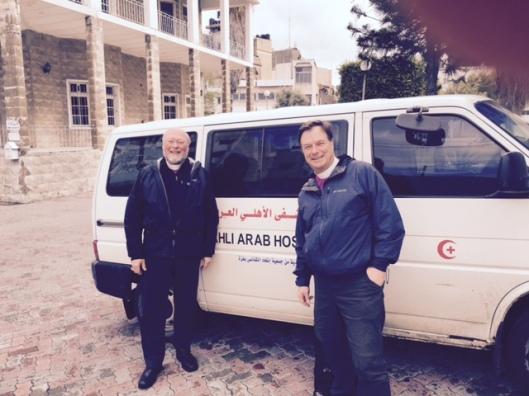 Gaza arrival
