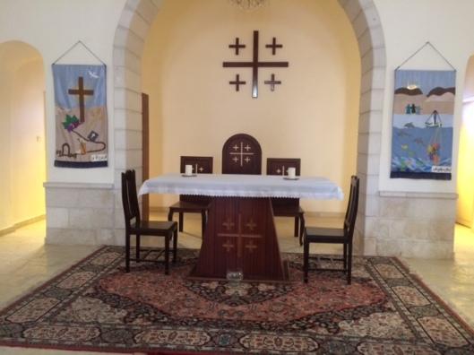 GAza hospital chapel