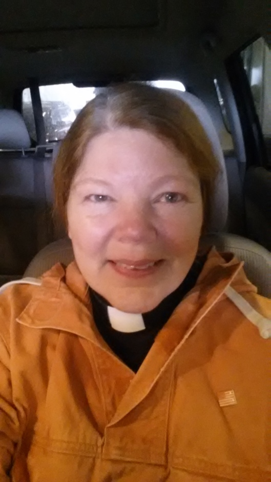 rachel wearing orange