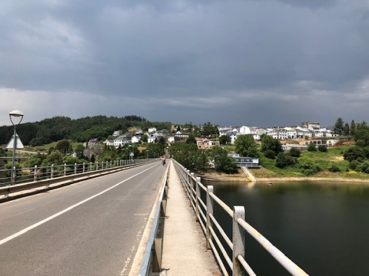 Camino entry to Portamarin