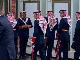 Jordanian Military musicians